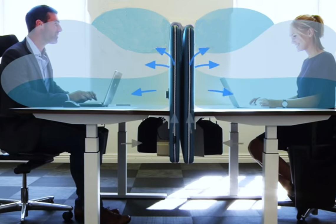 Götessons PAZ - Pure Air Zone® Desk Screens